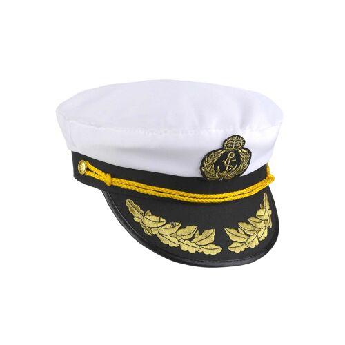 Vegaoo Kapitäns-Mütze für Erwachsene