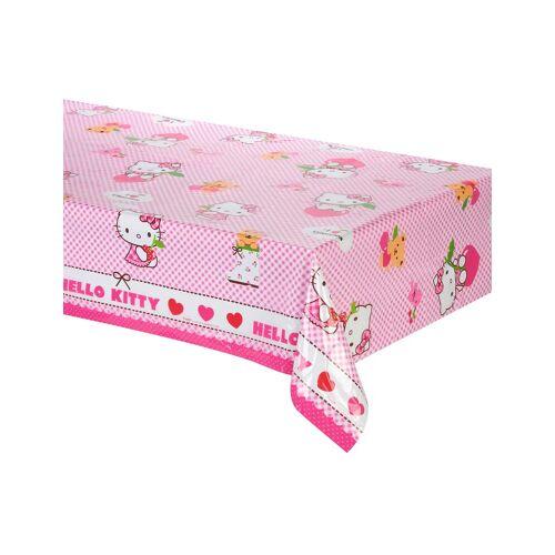 Vegaoo Kunststoff Tischdecke Hello Kitty
