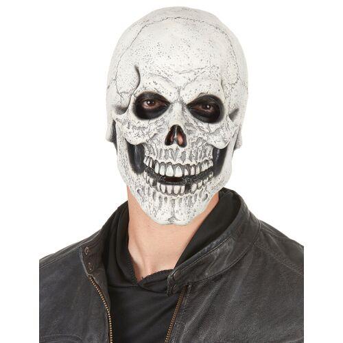 Vegaoo Latex-Maske lachender Schädel