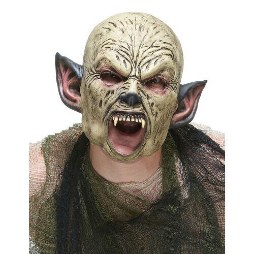 Vegaoo Orks-Maske aus Latex