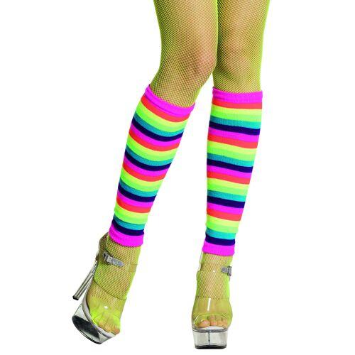 Vegaoo Stulpen in Regenbogen-Farben