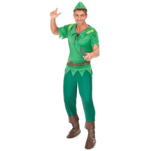 Vegaoo Grünes Waldmann-Kostüm für Herren - L