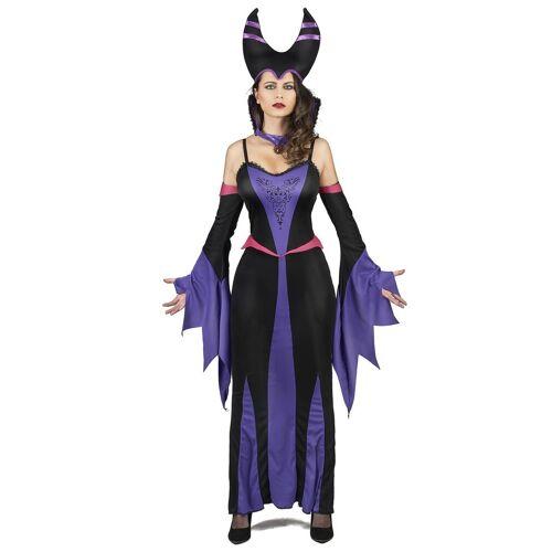 Vegaoo Kostüm Magierin violette Dame - S