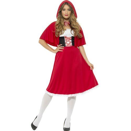 Vegaoo Kostüm Miss Prinzessin in Rot Damen - S