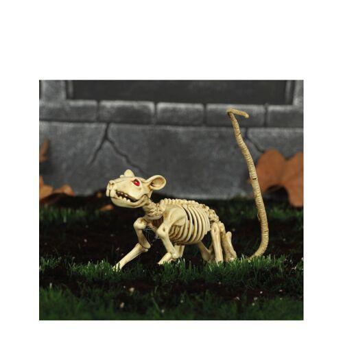 Vegaoo Dekoratives Skelett einer Ratte Halloween