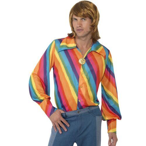 Vegaoo Regenbogenhemd - L