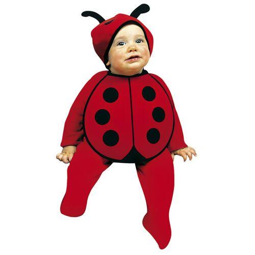 Vegaoo Baby Marienkäfer-Kostüm
