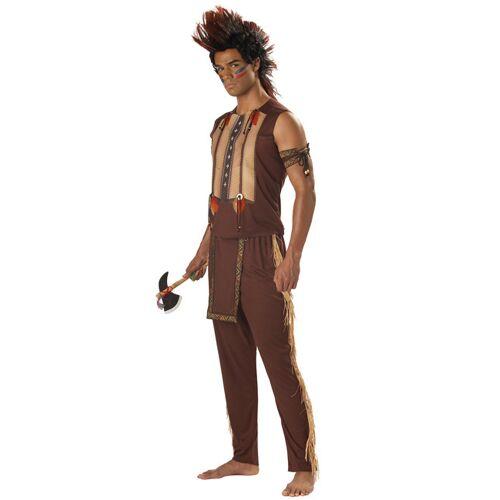 Vegaoo Indianer Häuptling Kostüm Herren - L
