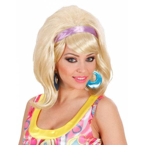 Vegaoo 60er blonde Perücke