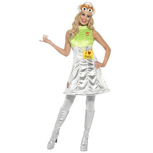 Vegaoo Kostüm Oscar Sesamstraße  Damen - XS