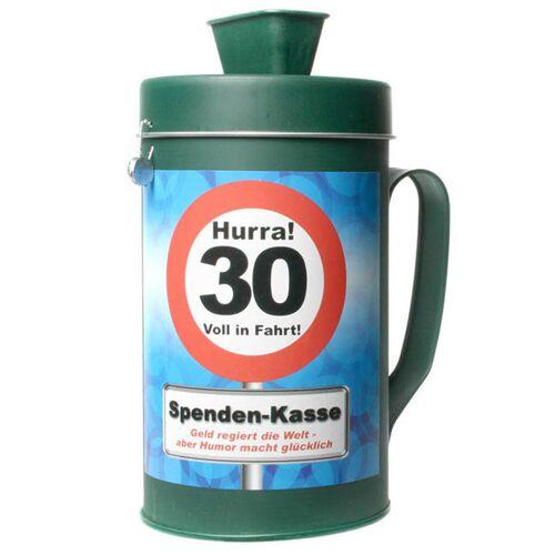 Vegaoo Witzige Spendenkasse zum 30. Geburtstag