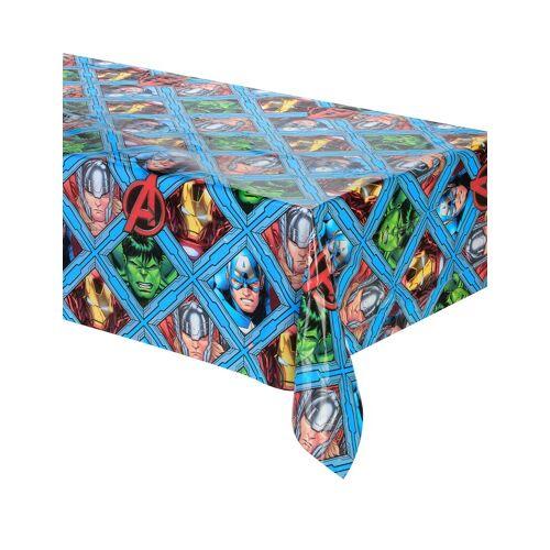 Vegaoo Avengers-Kunststoff Tischdecke 120 x 180 cm
