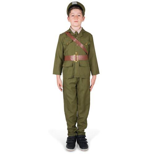 Vegaoo Soldatenkostüm für Jungen - 122/128 (4-6 Jahre)