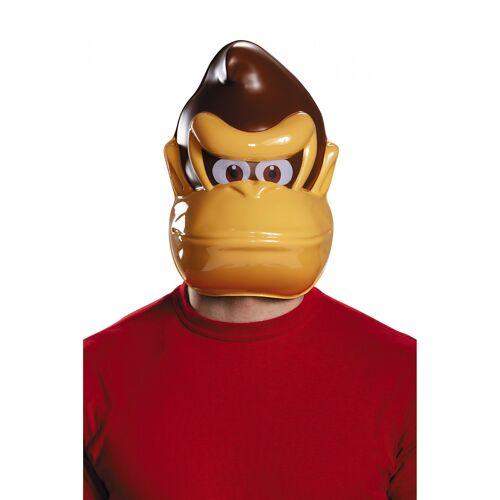 Vegaoo Donkey Kong Maske für Erwachsene Nintendo