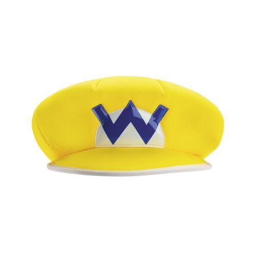Vegaoo Wario Mütze für Erwachsene Nintendo