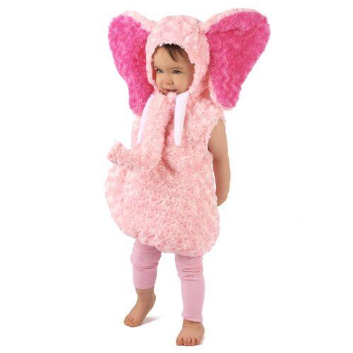 Vegaoo Rosa Elefanten Kostüm für Kinder - 98/104 (3-4 Jahre)