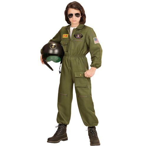 Vegaoo Flieger Kostüm für Jungen grün - 158 (11-13 Jahre)