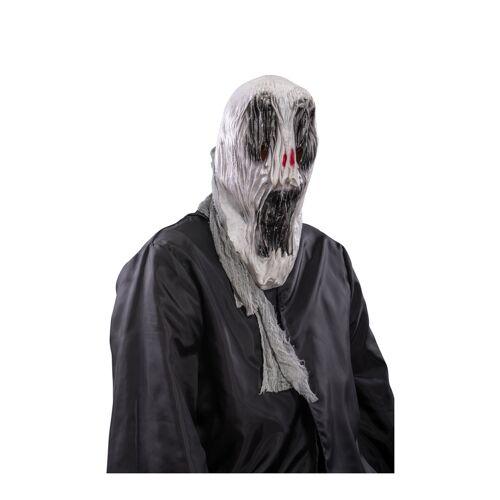 Vegaoo Teuflischer Dämon Halbmaske rot-schwarz