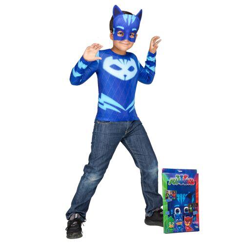 Vegaoo Catboy Kostüm PJ Masks Pyjamahelden - 110/116 (5-6 Jahre)