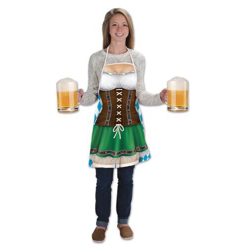 Vegaoo Lange Schürze Oktoberfest