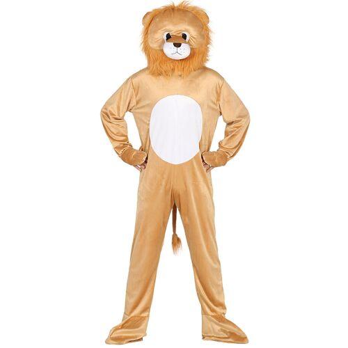 Vegaoo Löwe Kostüm für Erwachsene Maskottchen