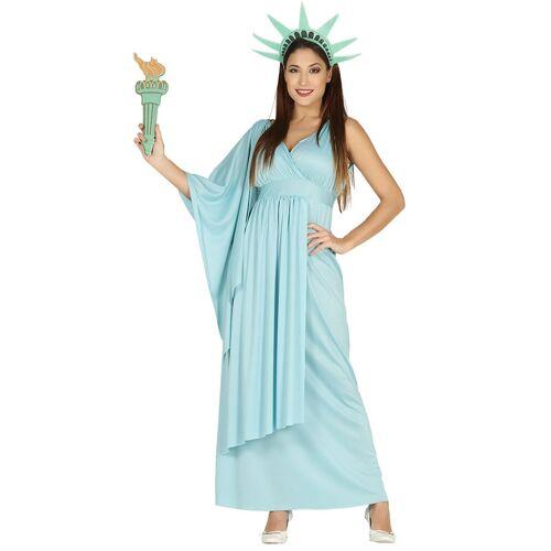 Vegaoo Freiheitsstatue Kostüm für Damen - L (42-44)