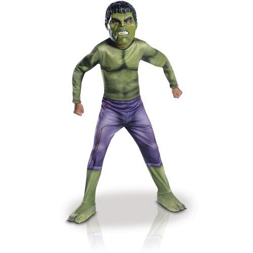 Vegaoo Hulk Lizenz-Kostüm für Kinder Thor Ragnarok grün-lila - 98/104 (3-4 Jahre)