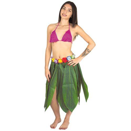 Vegaoo Langer Hawaii - Rock Bananenbaumblätter
