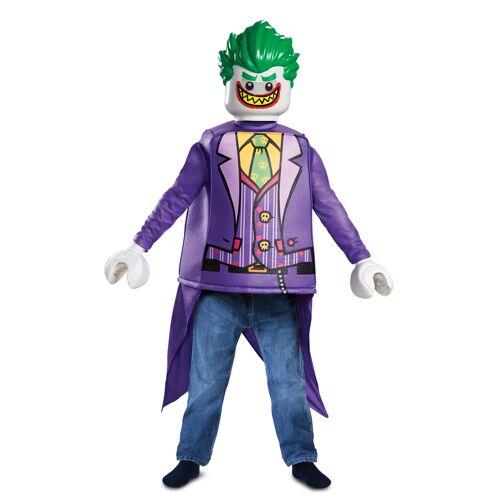 Vegaoo Lego Joker-Kostüm für Kinder bunt - 128/134 (7-8 Jahre)