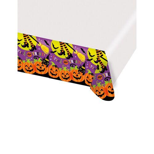 Vegaoo Kürbis Tischdecke Halloween 137 x 260 cm
