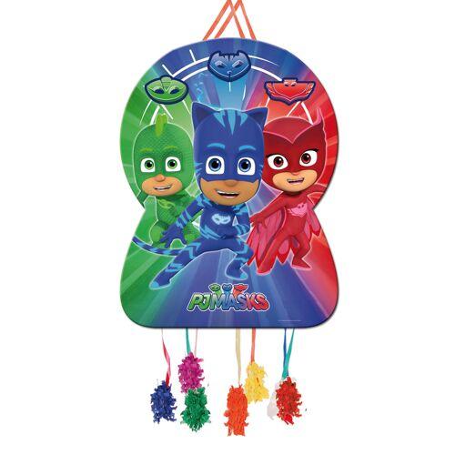 Vegaoo PJ Masks-Pinata Kindergeburtstag Spielzeug bunt 46x65cm