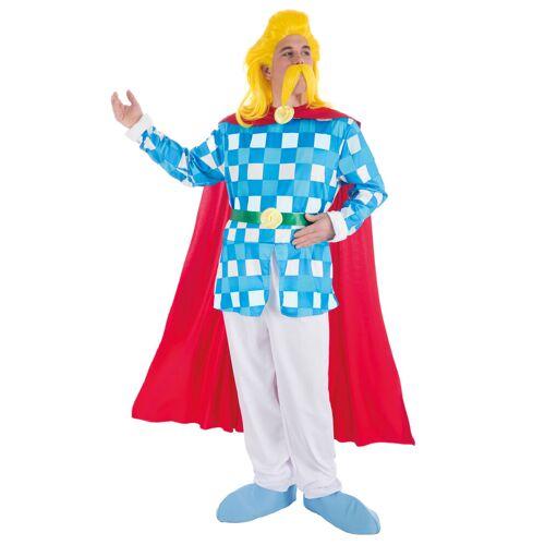Vegaoo Troubadix-Lizenzkostüm Asterix und Obelix für Herren bunt - M