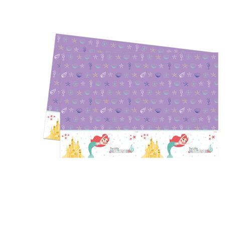 Vegaoo Arielle-Tischdecke Kindergeburtstag Lizenz bunt 120x180cm