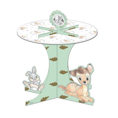 Vegaoo Disney Bambi Cupcake Aufsteller Kindergeburtstag bunt 27x30cm