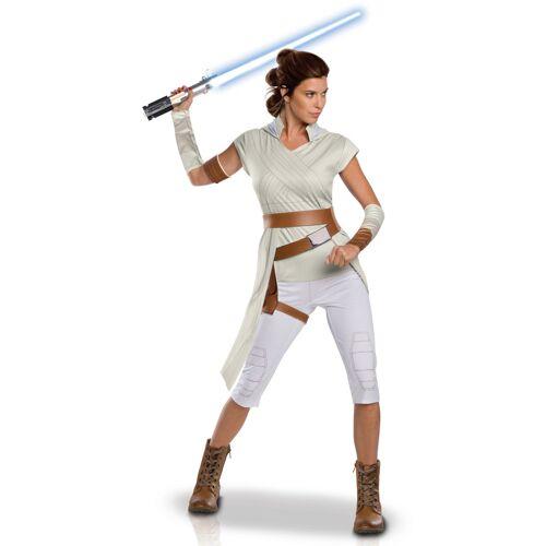 Vegaoo Rey-Kostüm Star Wars: Der Aufstieg Skywalkers weiß - S