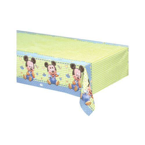 Vegaoo Baby Mickey Kunststoff-Tischdecke