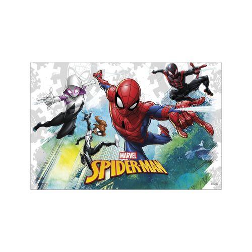 Vegaoo Spiderman-Tischdecke Kindergeburtstag bunt 120x180cm