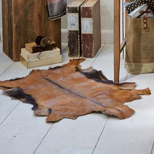 LOBERON Ziegenfellteppich Piedro braun