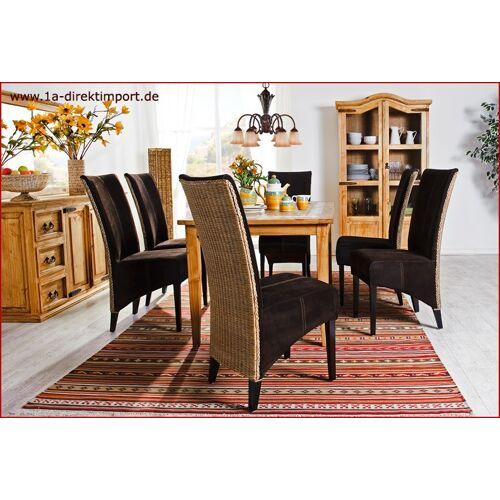 1a Direktimport Lederstuhl Granada, Lederstühle, Esszimmerstühle