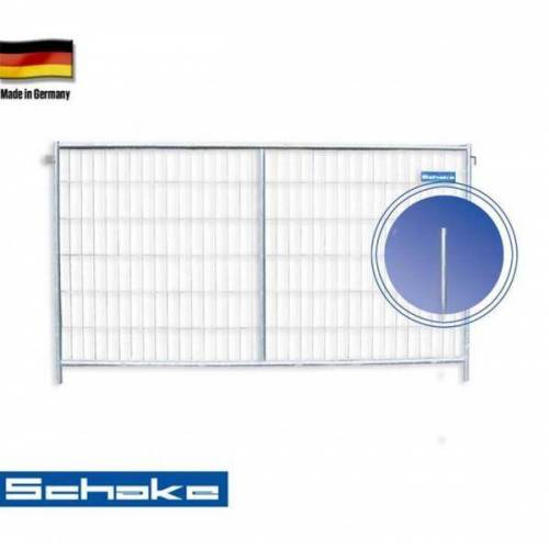 """Schake Mobilzaun / Bauzaun """"Profi M"""" 3,5 x 2 m"""