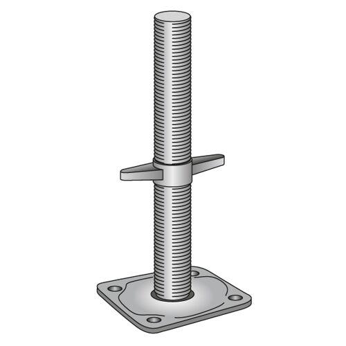 Scafom-rux Gewindefußplatte Ø 38 mm GEBRAUCHT 1.00 m