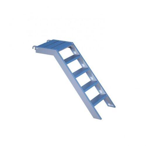 Alu-Treppe 1.00 m mit Podest (RA)