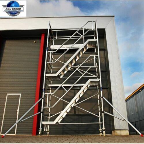 ASC fahrbarer Treppenturm AH 4,2 m 1.90 m