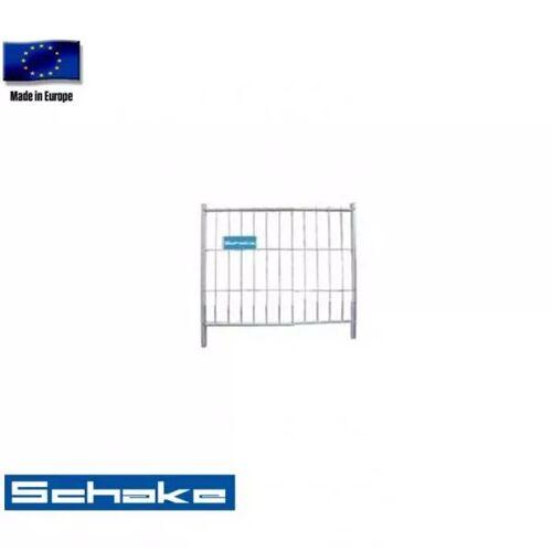"Schake Mobilzaun / Bauzaun ""Standard"", Torelement 1,2 x 1,2 m"