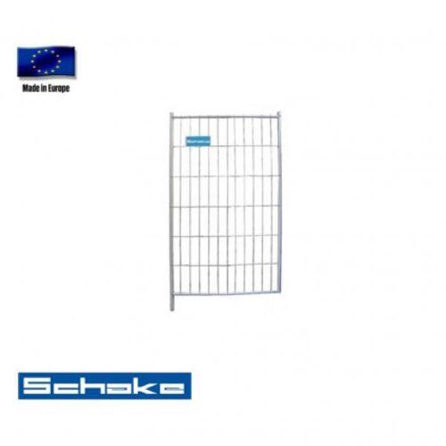 "Schake Mobilzaun / Bauzaun ""Standard"", Torelement 1,2 x 2 m"