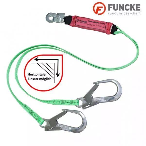 Funcke Verbindungsmittel 2 m Y-BFD (FS90) mit Bandfalldämpfer
