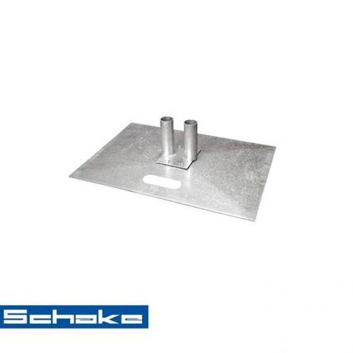 Schake Mobilzaunplatte (ohne Bodenverankerung)