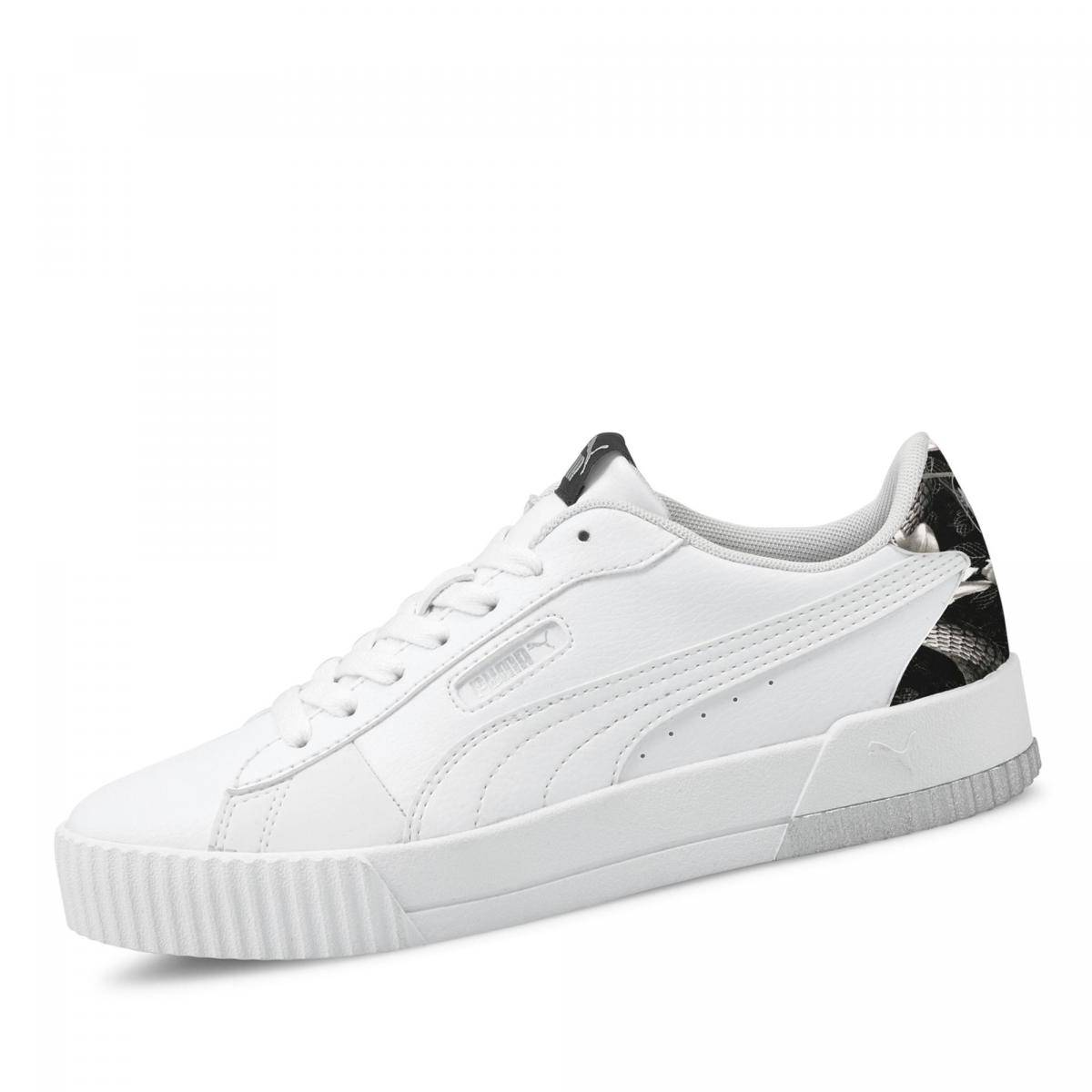 Puma Carina Crew Sneaker - Damen - weiß in Größe 40