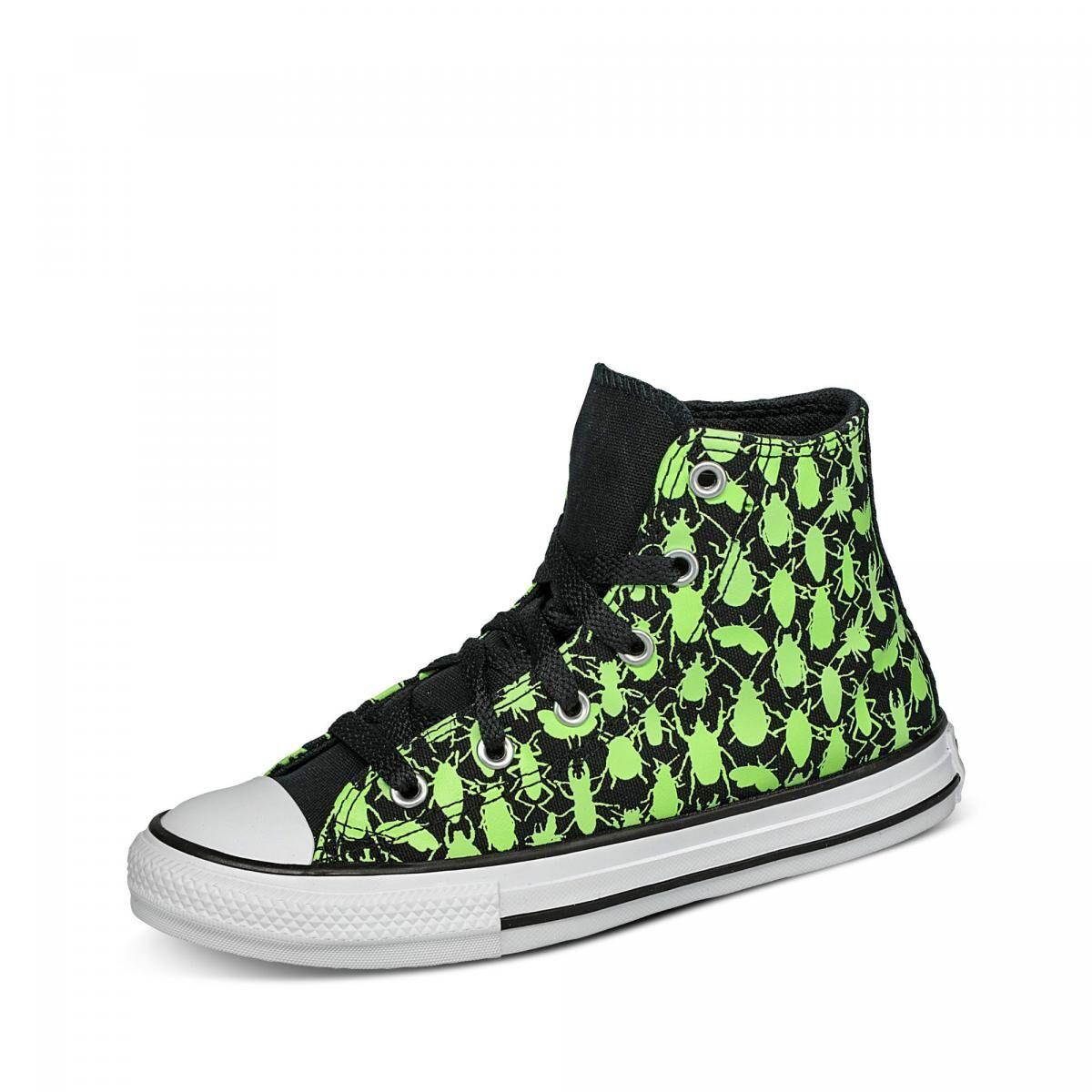 Converse CTAS Sneaker - Kinder - BLACK/CERAMIC GREEN/WHITE in Größe 35 jetzt im Angebot