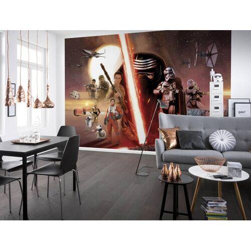 Komar Fototapete STAR WARS EP7 Collage, 368 x 254 cm